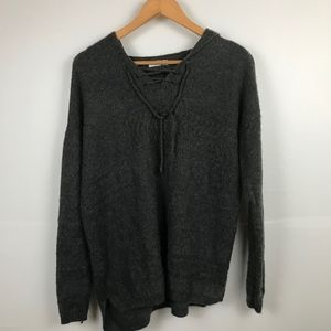 Sonoma Gray Sweater with Hood